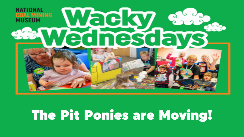 Wacky Wednesday: The Pit Ponies are Moving