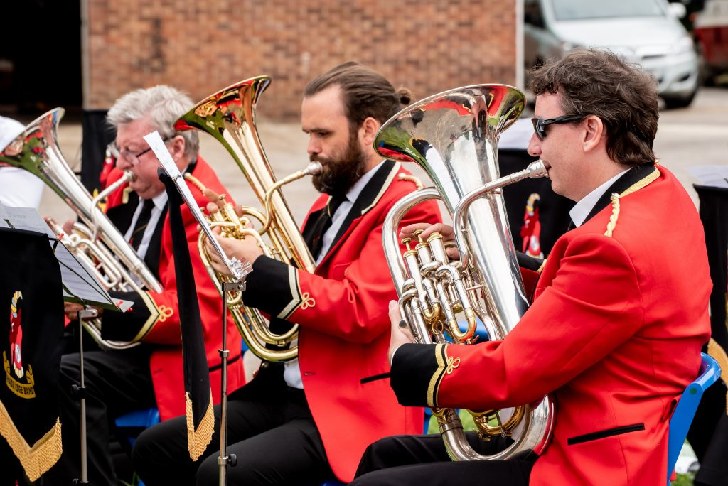 Festive Brass Band Performances